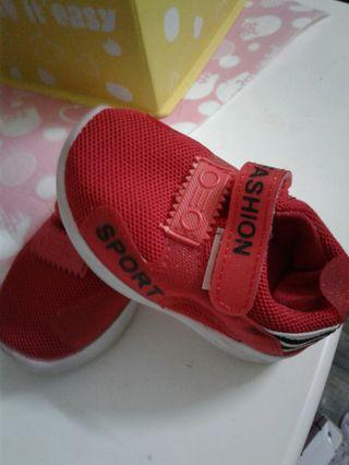 Baby boy red Shoes