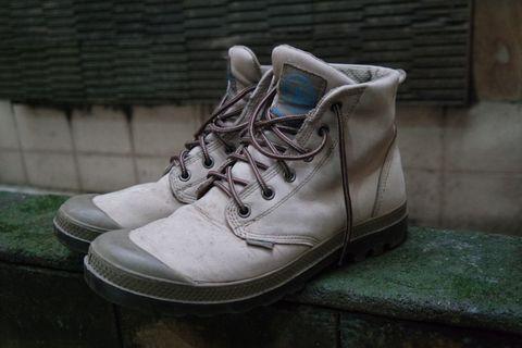 Palladium Pampa Hi Waterproof Nubuck leather boots #maujam