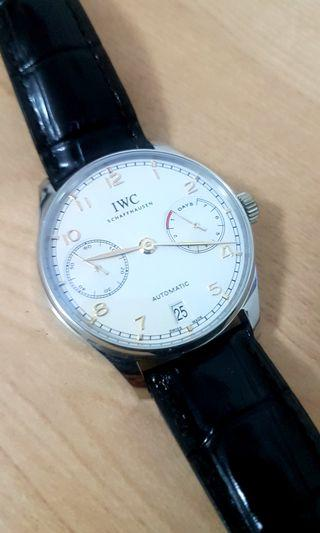 Selling  ZF IWC 7 Days Gold Dial