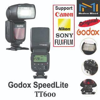 Godox Speedlite TT600 - support Canon / Nikon / Sony / Fujifilm