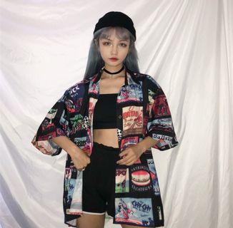 [PO] Korean style ulzzang bf outerwear/shirt