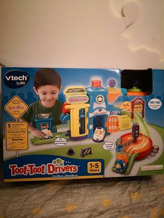 Vtech 玩具車 警察局 車組合 car 禮物