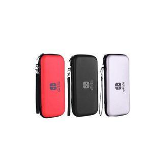Nintendo Switch EVA Hard Shell Case (Red/Black/Silver)