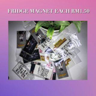 Fridge Magnet RM1.50 (each)