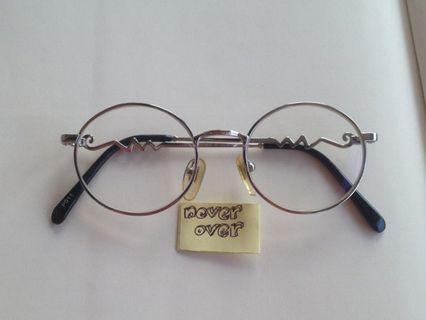 Kacamata Vintage PAVILION SILVER ROUND CARVED FRAME (Col. Silver)