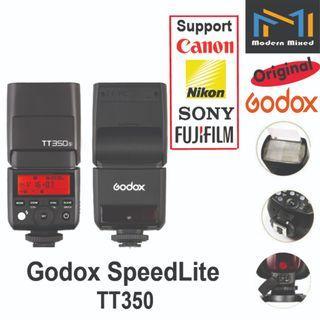 Godox Speedlite TT350 - support Canon / Nikon / Sony / Fujifilm
