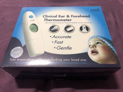 Cadi clinical Ear and Forehead Thermometer for baby and child #Braun T560