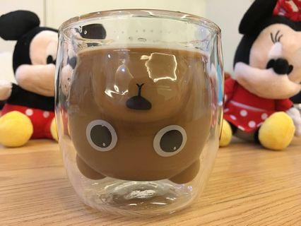 3D bear glass design 3