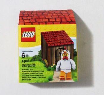 Lego chicken minifig