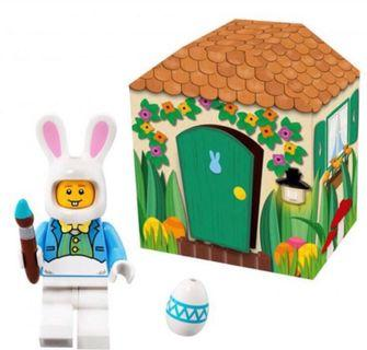 Lego Easter bunny minifig