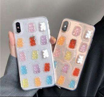 🚚 iPhone x/xs小熊軟糖手機殼