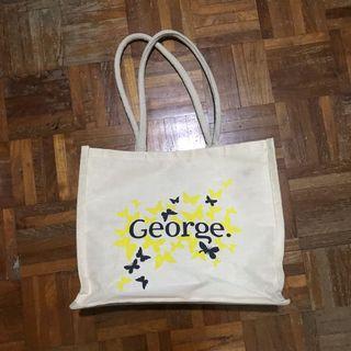 🚚 Jute Hemp Tote Bag with Long Handles