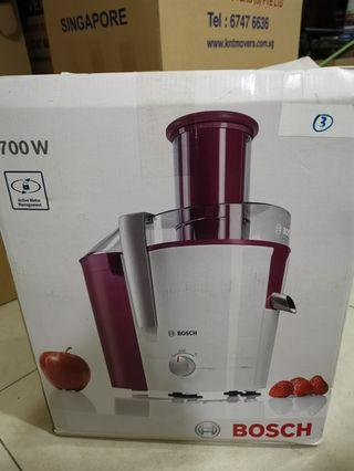 🚚 MOVING SALE - ALMOST NEW BOSCH Juice Extractor