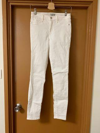 White Jeans Abercrombie Fitch