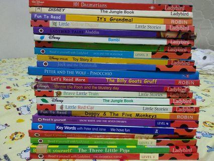 Miscellaneous Disney books  and others x 23 books