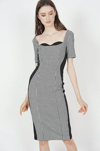 MDS Houndstooth Dress
