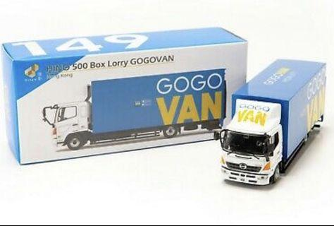 Tiny HINO 500 Box Lorry GOGOVAN 貨車