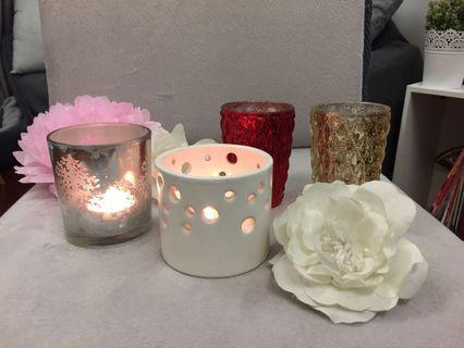 Candle holders 多款蠟燭杯