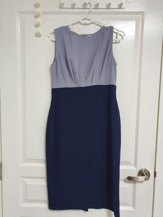 Love Bonito Dress - Navy