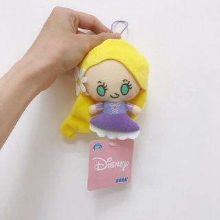 🚚 日本sega夾娃娃機正版限定景品 迪士尼Q版可愛長髮公主樂佩