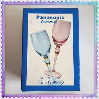 Panasonic Collection Fine Wine Glasses 4pcs