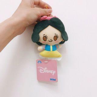 日本sega夾娃娃機正版限定景品 迪士尼Q版可愛白雪公主