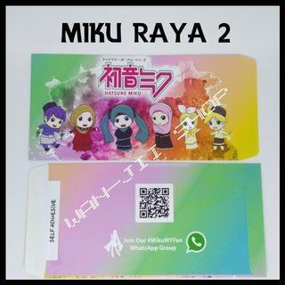 Sampul Raya Hatsune Miku Muslimah Version - Miku Raya 2