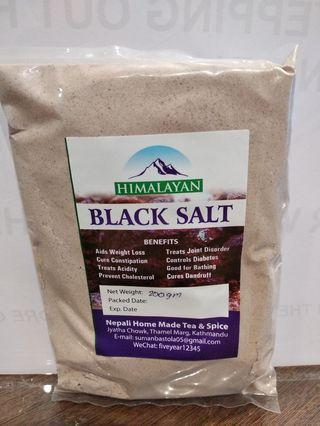 Black salt (very fine)