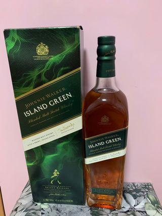 Johnnie Walker-Island Green, 1L
