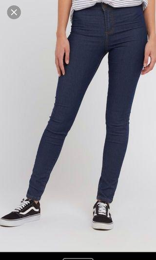 #ds14 factorie high waisted jeggings