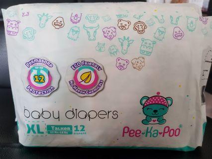 🚚 Pee-Ka-Poo Diapers (Buy 2 packs and get free diapers!)