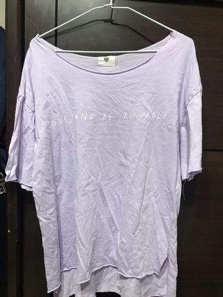 🚚 紫色T shirt