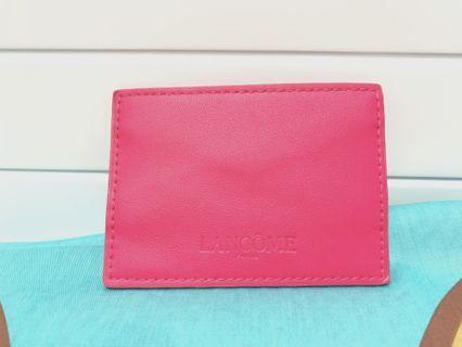 Lancôme card holder & make-up bag