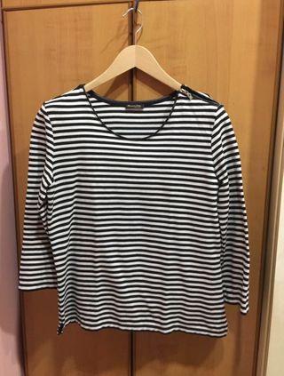 Massimo Dutti Women's Stripes Tops