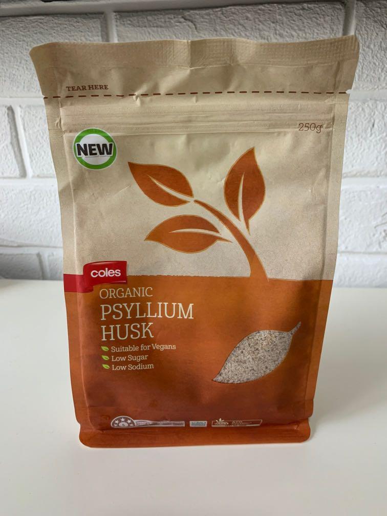 250g Organic Psyllium Husk, Food & Drinks, Baked Goods on