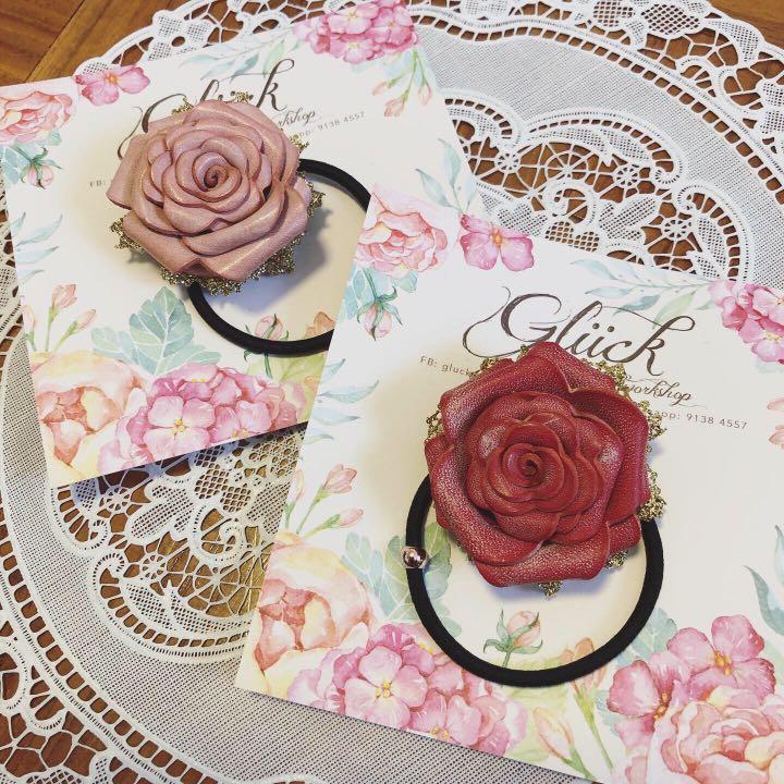 玫瑰花頭飾