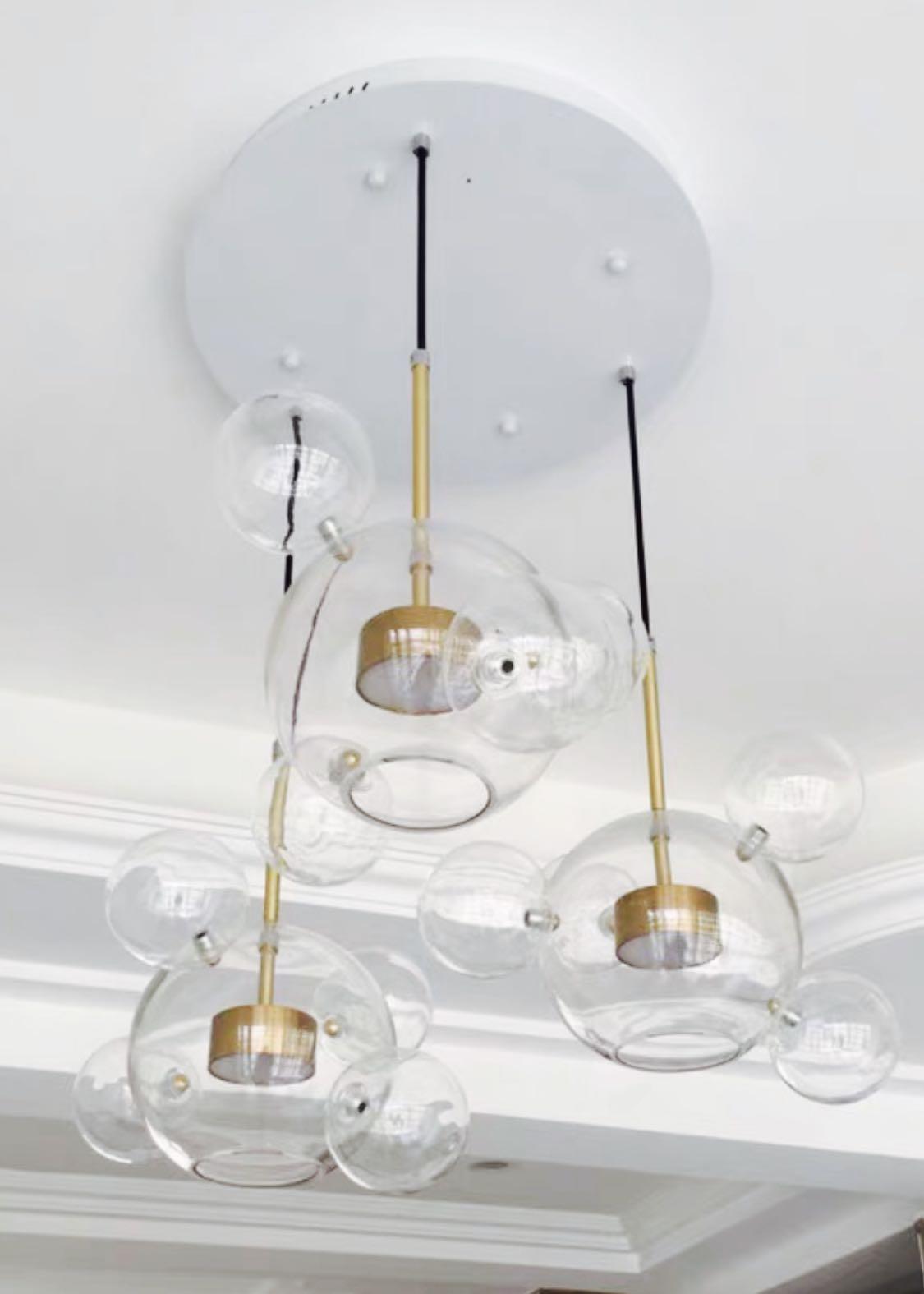 玻璃泡泡燈(全新)