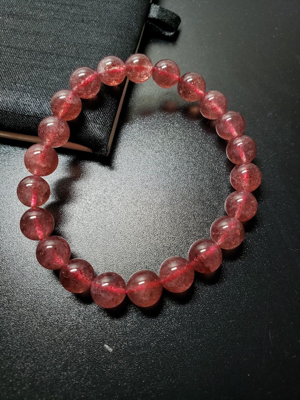 優質 草莓晶/8.5mm/No.1538