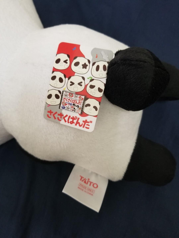 熊貓 毛公仔 高約40cm