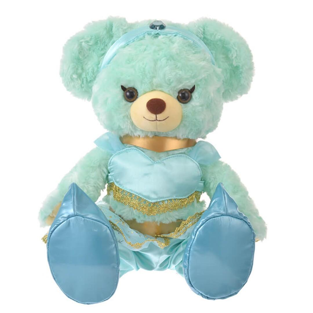 日本迪士尼 DISNEY STORE限定 UniBearsity 大學熊 阿拉丁/Aladdin 茉莉公主 衣服套裝