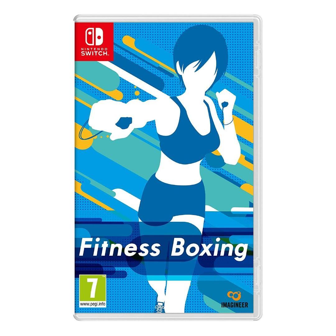 (全新) NS Switch Fitness Boxing 健身拳擊 (歐版中文/ 英文/ 日文) - 與 Ring Fit Aventure wii fit 一樣可減肥健身