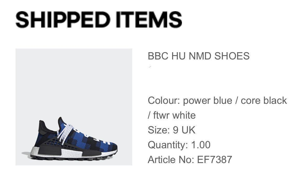 Adidas X Pharrell Williams X BBC Human Race NMD, Men's
