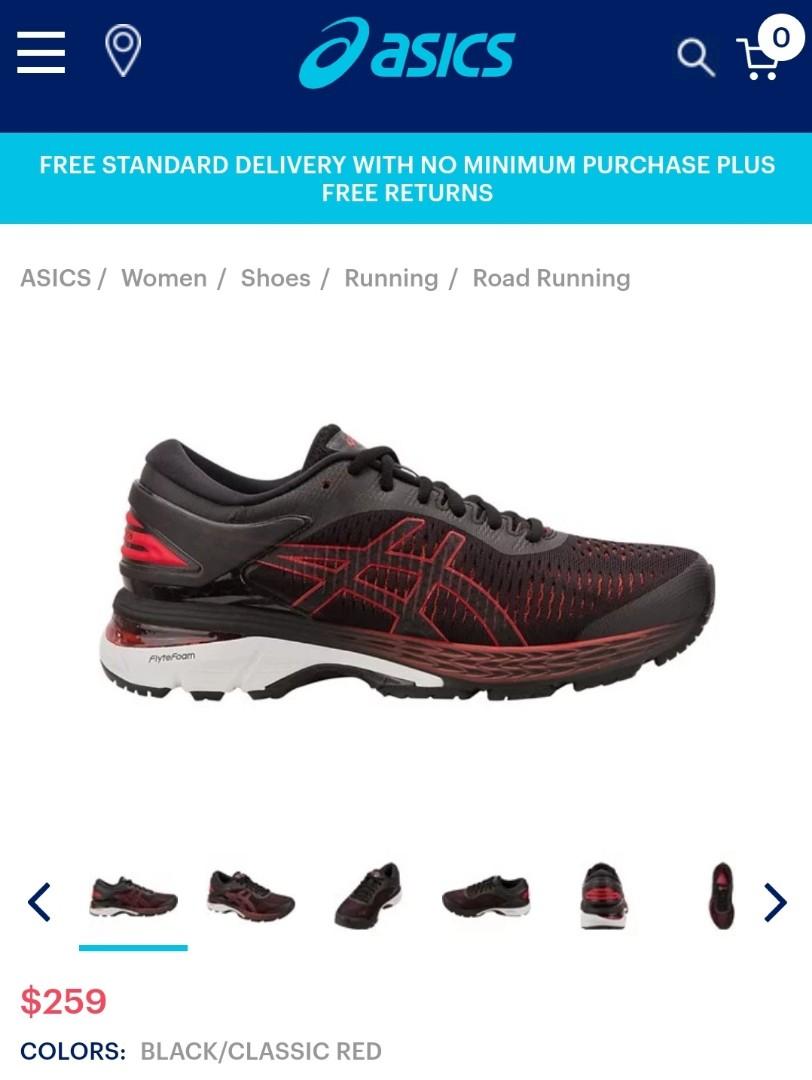 6117d56d20d Asics Running Shoes Women's Kayano 25 US 8, Sports, Sports & Games ...