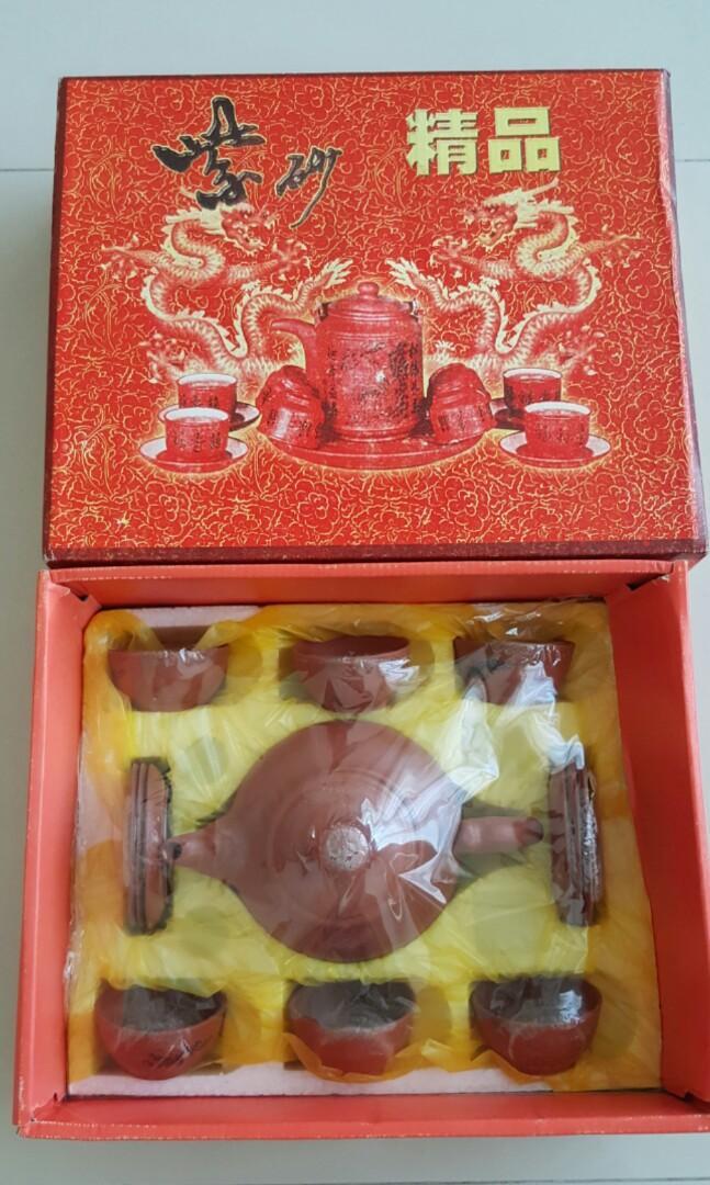 Brand New Change Colour Dragon High Quality Traditional Tea Pot Set