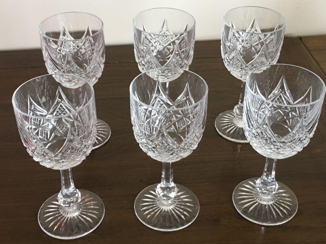 "Baccarat Colbert 5"" Port Wine Glasses"