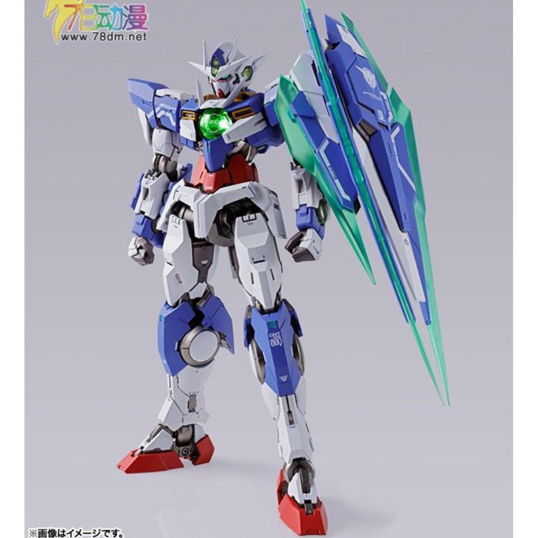 Bandai Metal Build Gundam 00 MB 高達 GNT-0000 00 QAN [T] 超合金 Action Figure Robot 魂 #MTRcwb #MTRmk #MTRcentral Freedom Destiny Strike Crossbone Soul Blue Eva