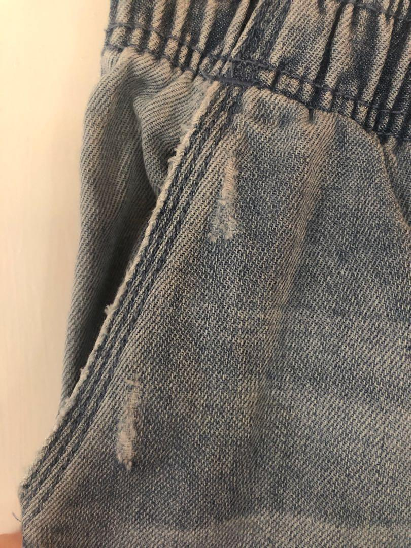 Billabong Denim Joggers Pants Tracksuit cotton linen 🌿💕