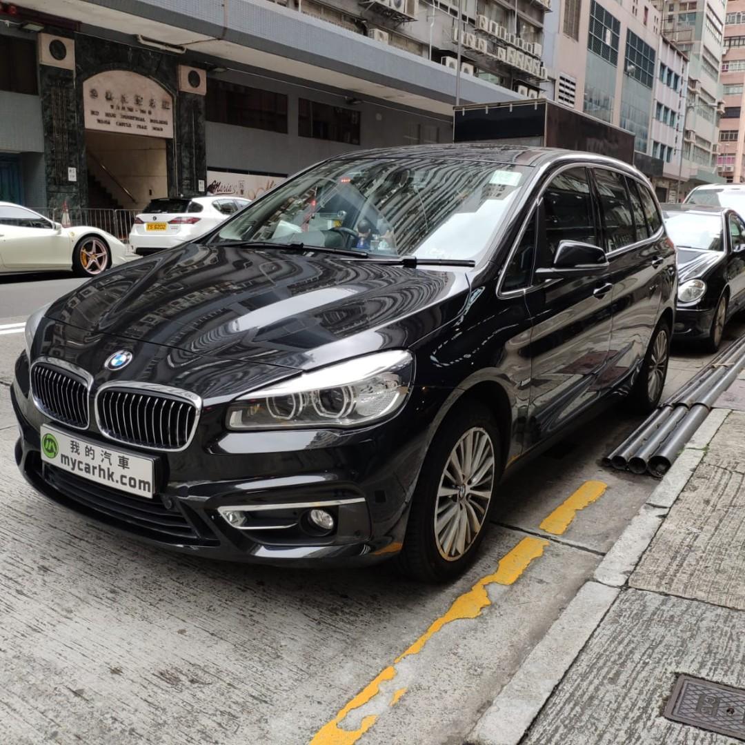 BMW 220I GRAND TOURER 2015