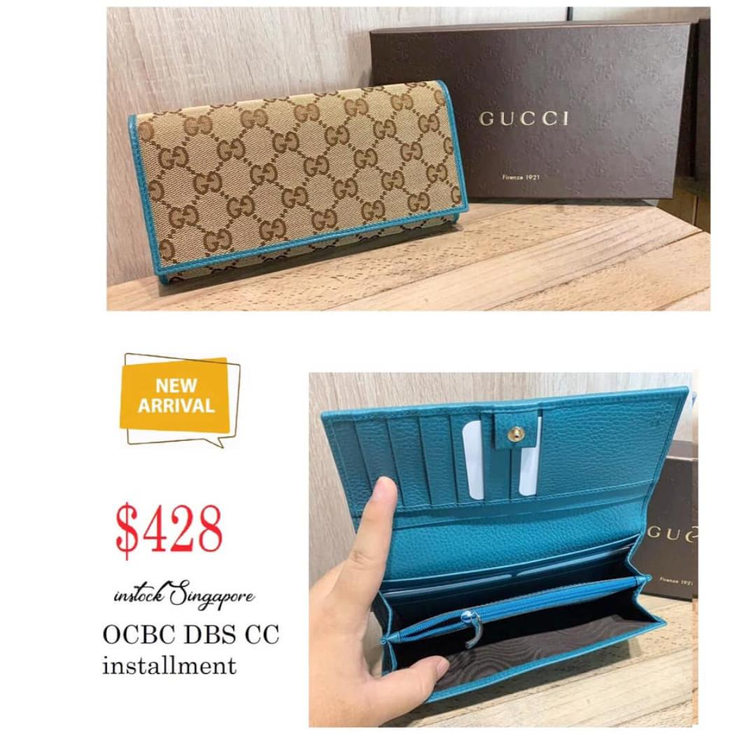 Brand New Instock Gucci Wallet