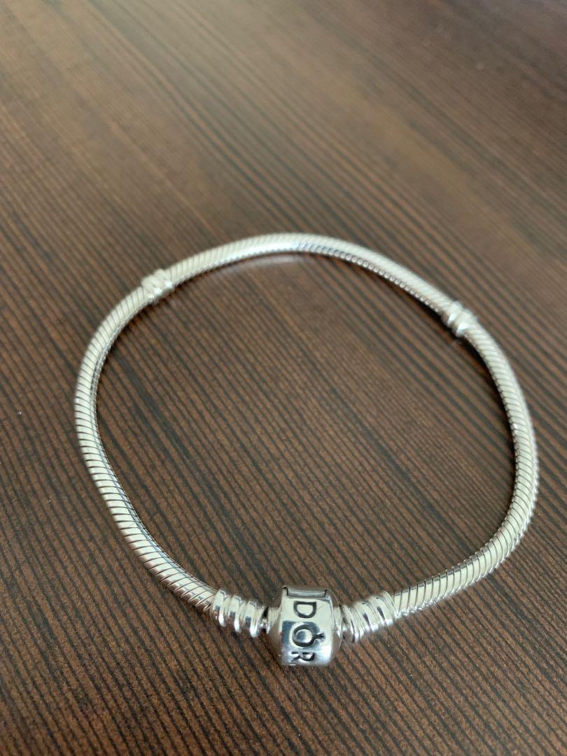 Brand New Pandora Moments Silver Clasp Bracelet